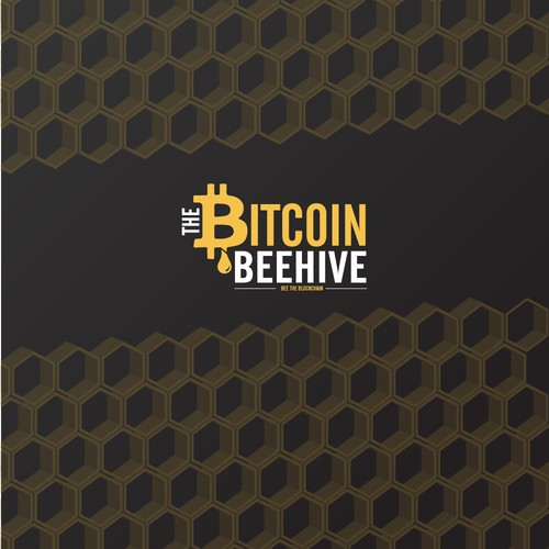 The Bitcoin Beehive Logo