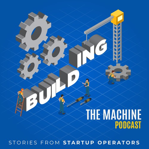 BuildingTheMachine Podcast Cover Design