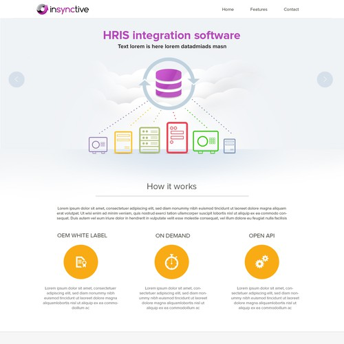 insynctive Landing Page