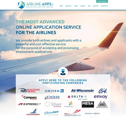 Airline Company WebSite Design
