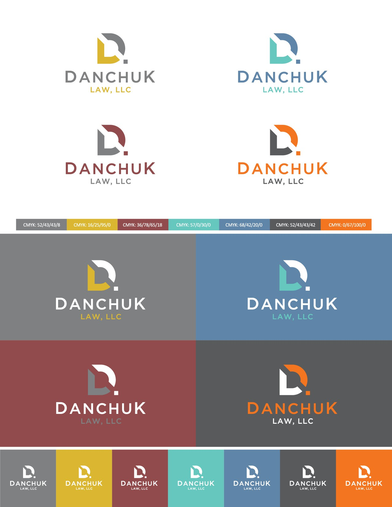 """Challenge: Law firm needs logo that doesn't look """"law firm-y"""""""