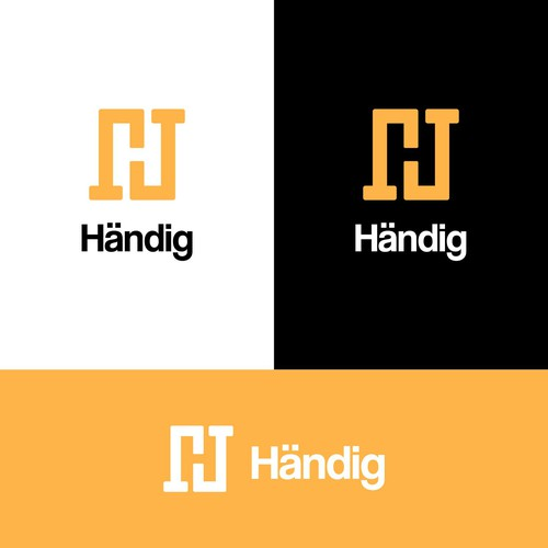 Deliver the next upcoming handyman services company logo
