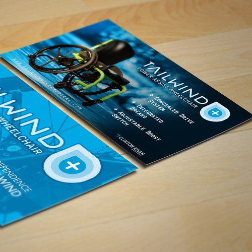 Create an capturing informational flyer for Tailwind
