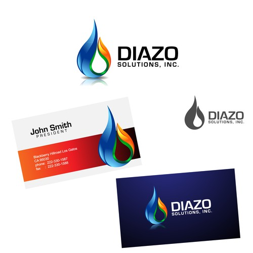 Create the next logo for Diazo Solutions Inc