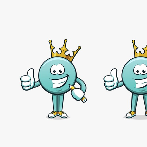 Mascot for Button-King