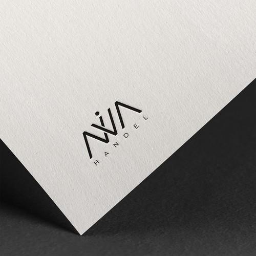 Bold Logo Concept for NIVA Handel.