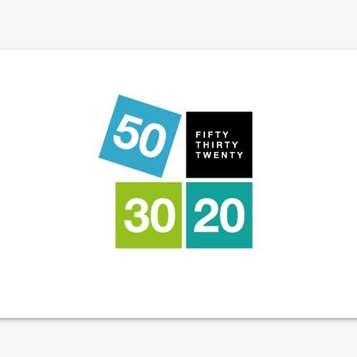 Fifty Thirty Twenty logo.