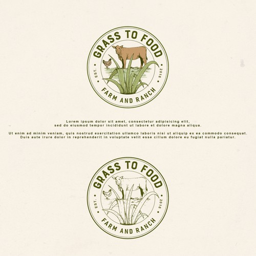 Grass to Food Logo