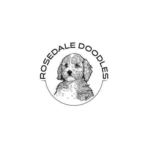 Logo design for Rosedale Doodles