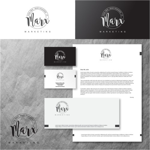 Marketing Consultant needs an appealing/charming logo