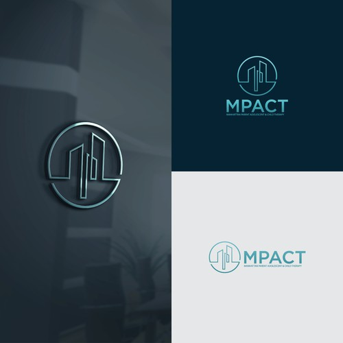 logo for a child/adolescent therapist