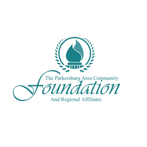 Create a sophisticated logo for Parkersburg Area Community Foundation & Regional Affilaites