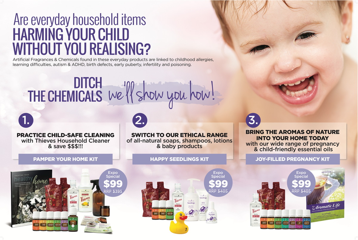 Ditch the Chemicals - expo specials