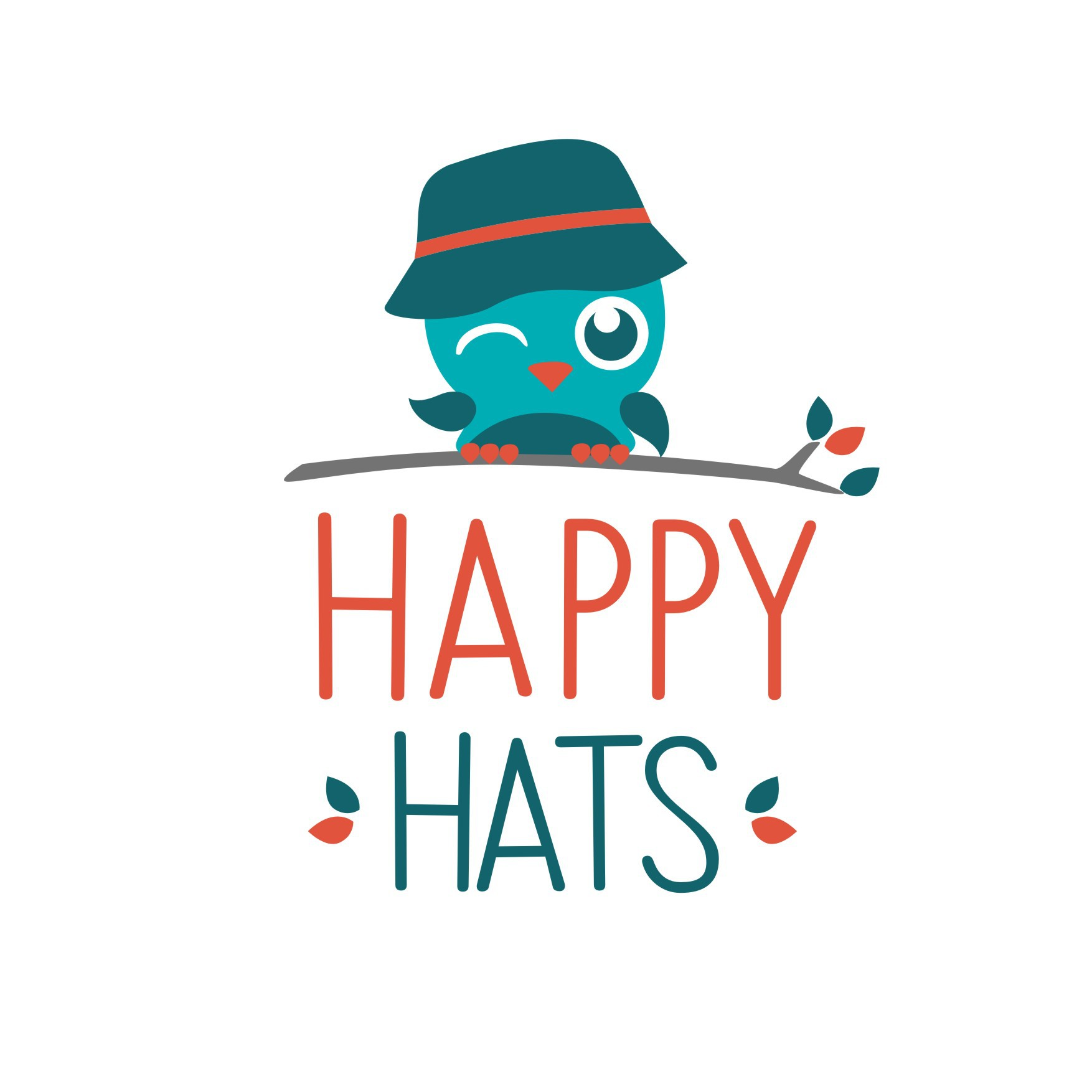 Happy Hats - branding needed for the fun and funky kid and the modern mum!