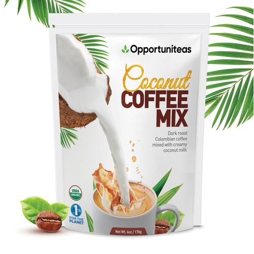 Coconut Coffee Mix