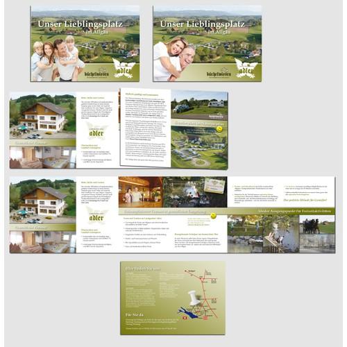 Hausprospekt für Landgasthof und Wohnmobil Stellplatz