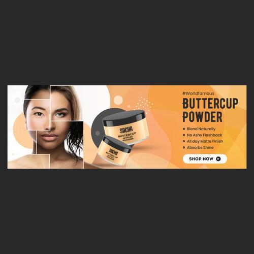 Buttercup Powder banner