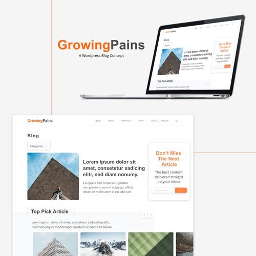WordPress Blog Concept
