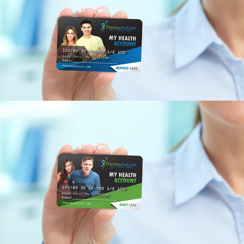 My Health Account Credit Card for TheresaAuCoin.Com