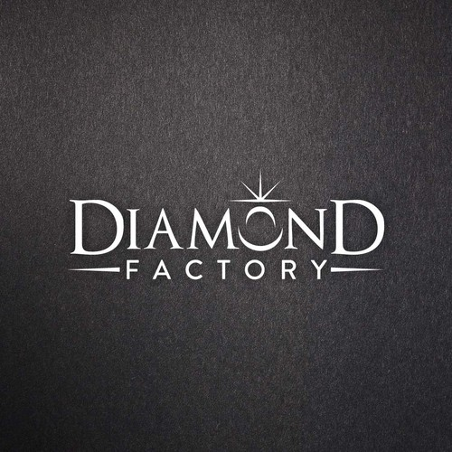 sparkle up & shine - it's the **Diamond Factory** logo contest