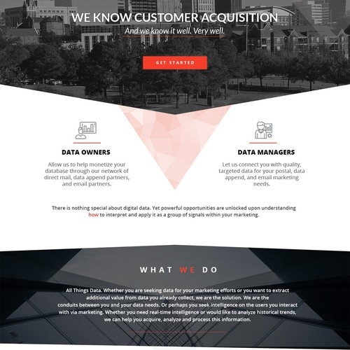 Website design for Red3i