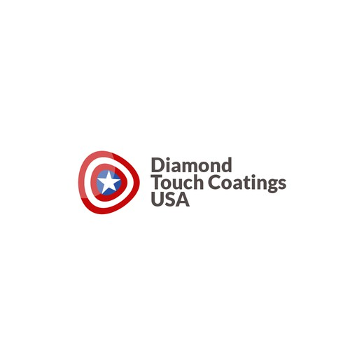 creative concept for american company logo