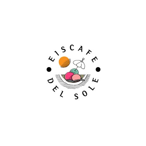 Logo Konzept für eine Eismanufaktur/Eiscafe