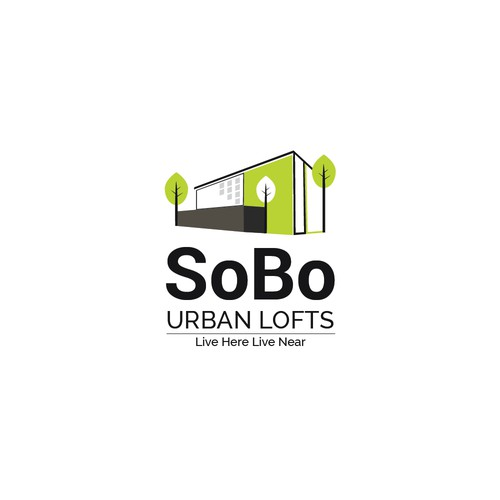 Modern logo for Urban Lofts