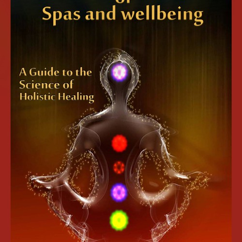 Design an ebook cover on The Psychology of Spas and Wellbeing