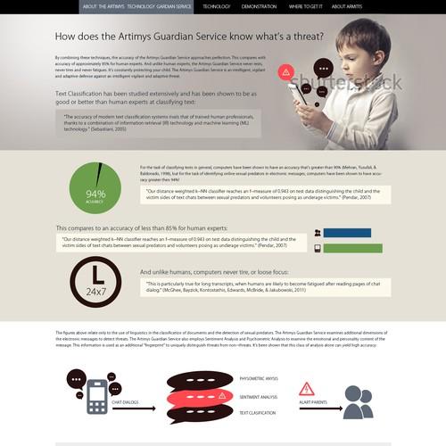 Website Design for Artimys Language Technologies