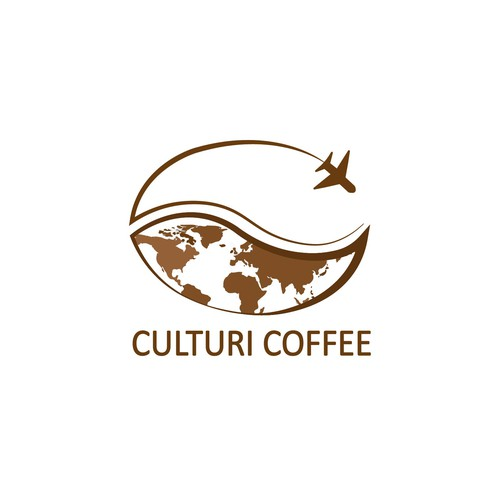 logo concept for a global coffee shop