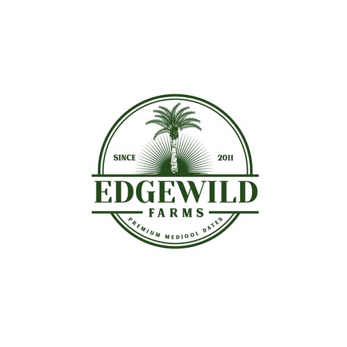 Classic Logo for Edgewild Farms - family farming business