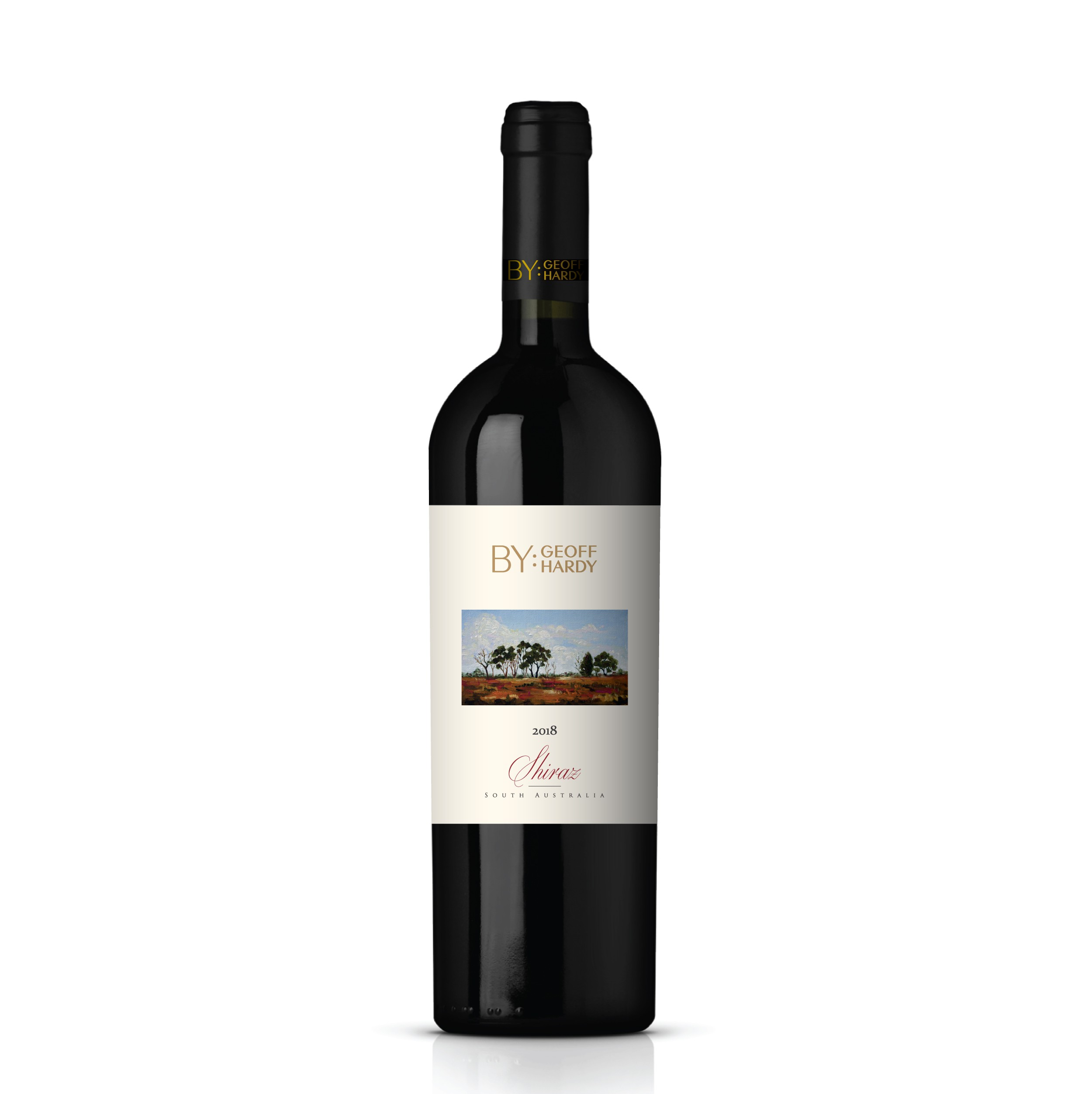 Wine label on the traditional side