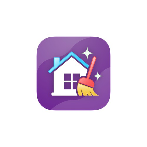 App icon design for Family Chores App