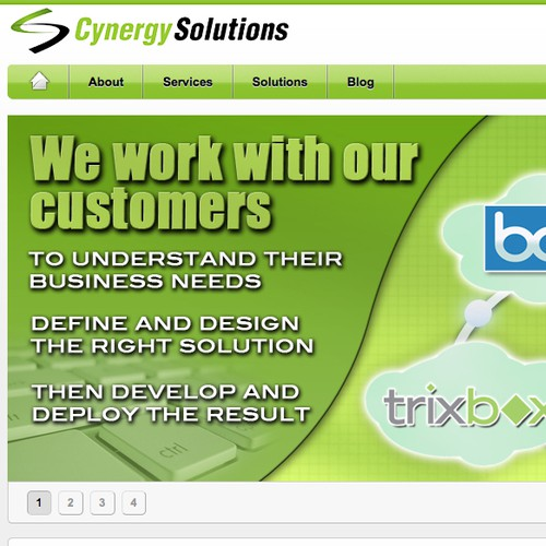 Cynergy Solutions, LLC needs a new design