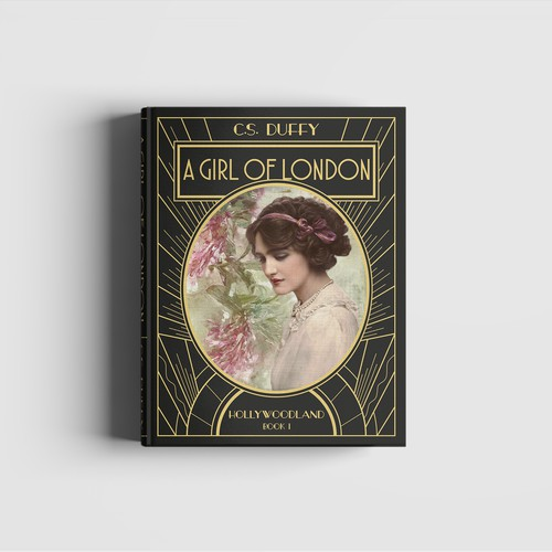Glam book cover