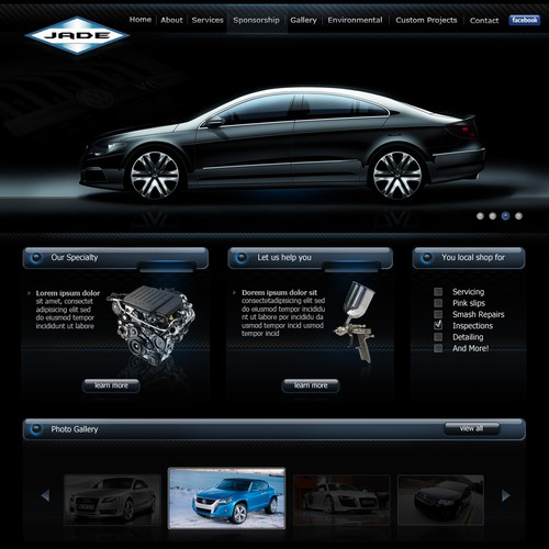 WebDesign For JadeAuto