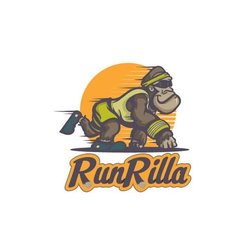 Running Gorilla = RunRilla