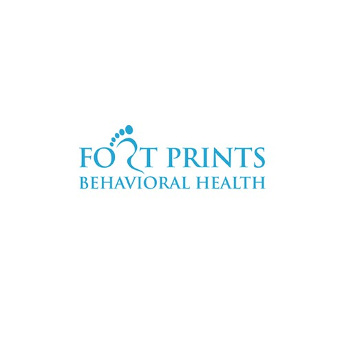 Create business logo for Foot Prints Behavioral Health .