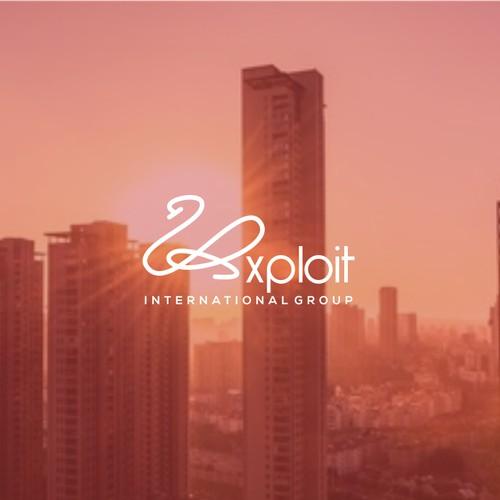 Logo concept for Exploit International Group