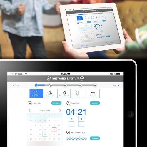 Home Security App Design
