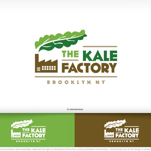 logo for The Kale Factory