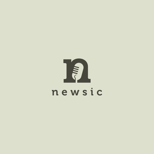 newsic logo design