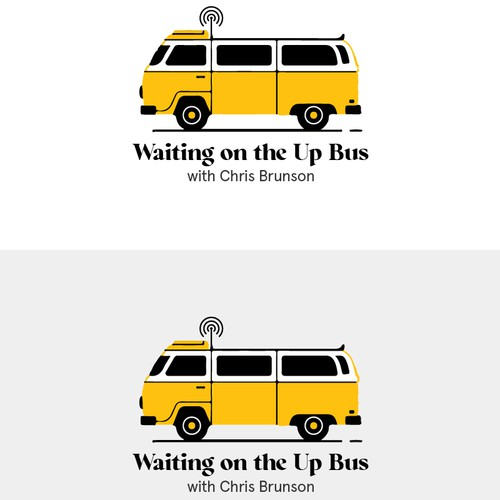 Waiting on the Up Bus Logo
