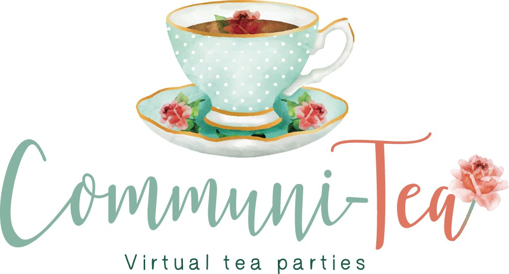 Design a charming/vintage tea party logo that harkens back to it's English roots
