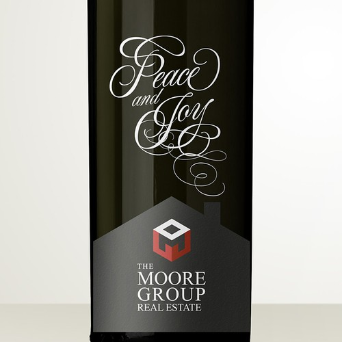 Wine Bottle and Gift Bag Label Design Contest for Luxury Real Estate Company