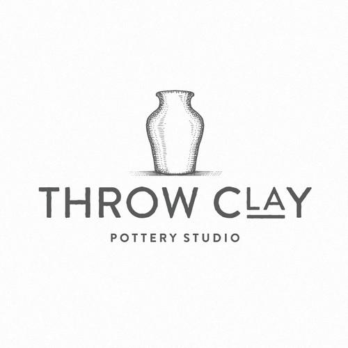 Throw clay pottery studio