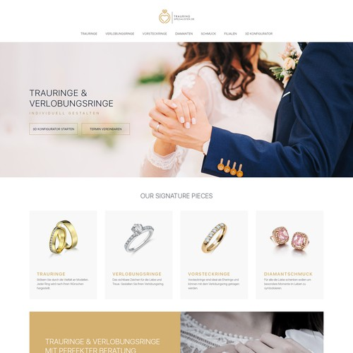 Wedding Ring and Engagement Ring Website