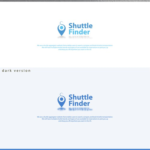 Shuttle Finder logo design