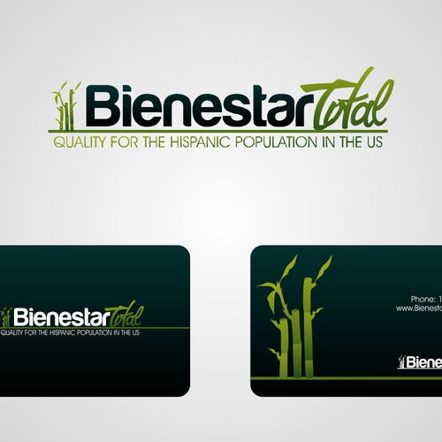 Create the next logo for BIENESTAR TOTAL